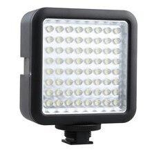 Godox LED 64 photo camera lights Video Lamp Light For Nikon Canon Sony Digital Camera Camcorder DV