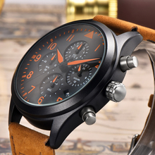 BENYAR Luxury Brand Analog Date Mens Quartz Watch 30M Waterproof Leather Fashion Casual Military Cock Relogio Masculino