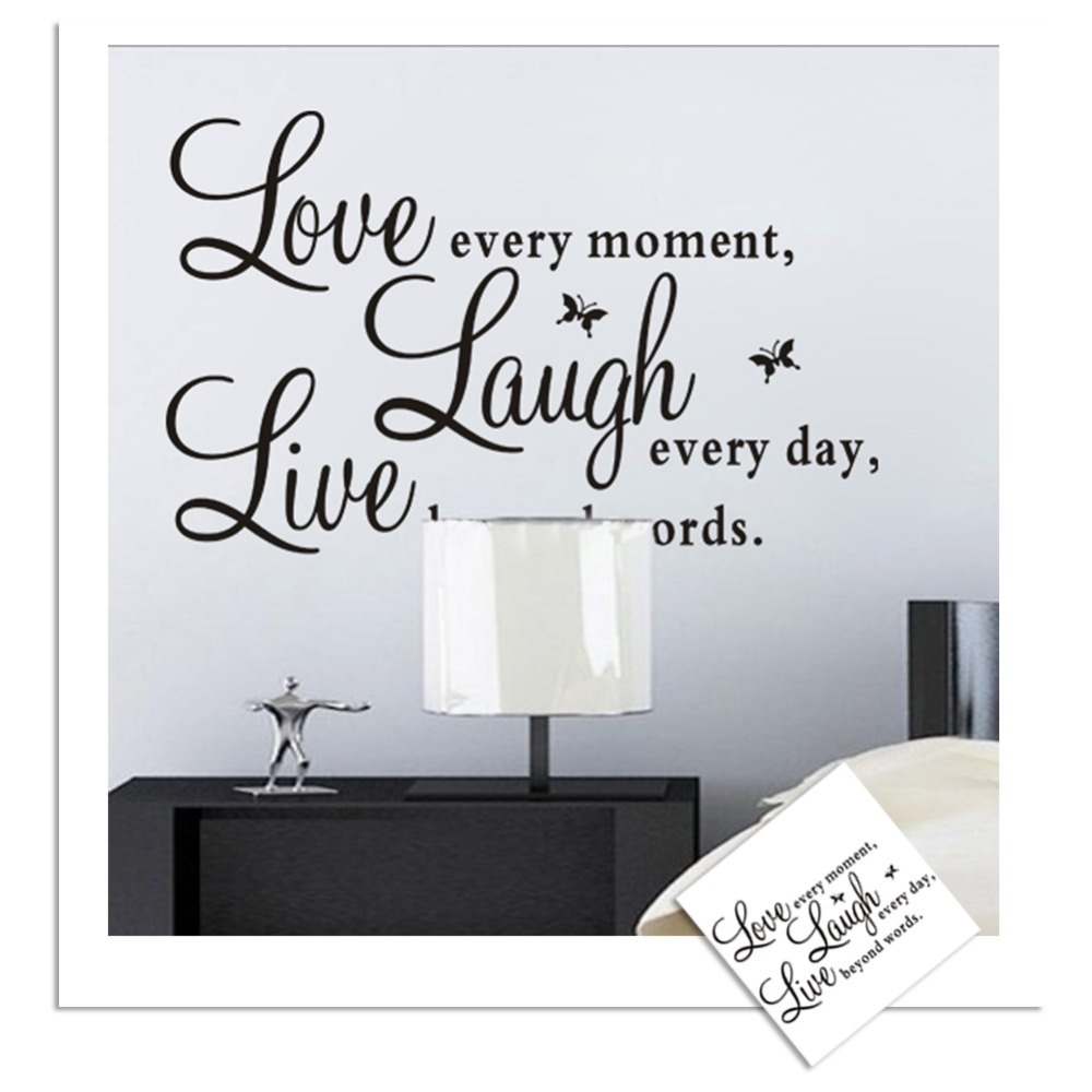 live love laugh wall decor shenra com cute colourful pvc removable words love live laugh wall sticker