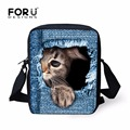 FORUDESIGNS Children School Bags For Kids Girls Cartoon Girl  Printing Small Book Shoulder Bags Kindergarten Mochila Escolar