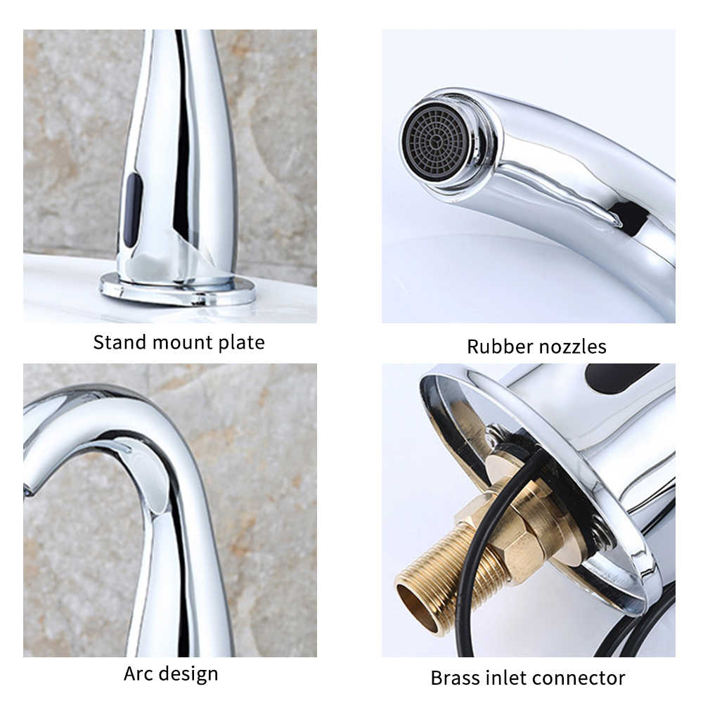ntra automatic sensor faucet stainless