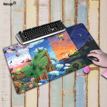 Mairuige Natural Scenery Large Locking Edge Pad Laptop Mouse Notbook Computer Creative Rubber Mat Gaming Mouse pad For CSGO DOTA