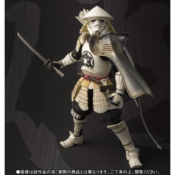 ALEN Star Wars Movie Realization Ashigaru Stormtrooper Action Figure PVC toys game figure Collection Model Toy for Anime Lover