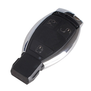 Case Chiave per  MERCEDES BENZ Smart Key Fob S SL ML SLK CLK E Holder Insert Key Chorme 1