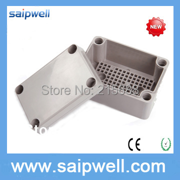 2015 NEW Saipwell plastic injection sealable enclosure IP66 waterproof junction box with ear IP66 75 120