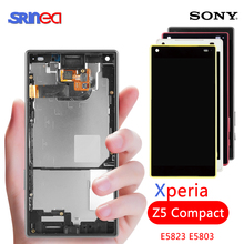 4.6 LCD For SONY Xperia Z5 Compact Display Touch Screen With Frame Adhesive XPERIA mini E5823 E5803