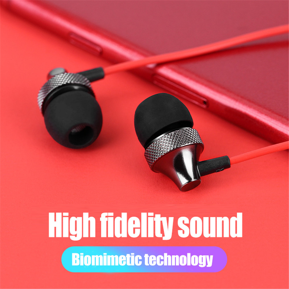 Esvne E01 Hifi Earbuds Headphone Noise Isolating in ear Earphone Headset with Mic for Mobile phone Universal fone de ouvido