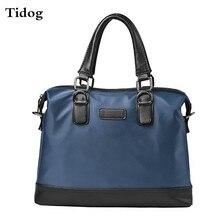 Tidog мужские сумки сумки мужчины портфель водонепроницаемый ткань Оксфорд деловая сумка
