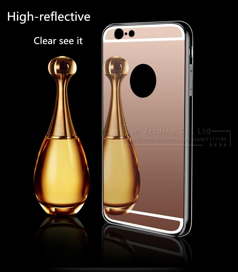 Cermin mewah TPU lembut kasus untuk iPhone 5S 5 se, Tas ponsel kasus - Aksesori dan suku cadang ponsel - Foto 3