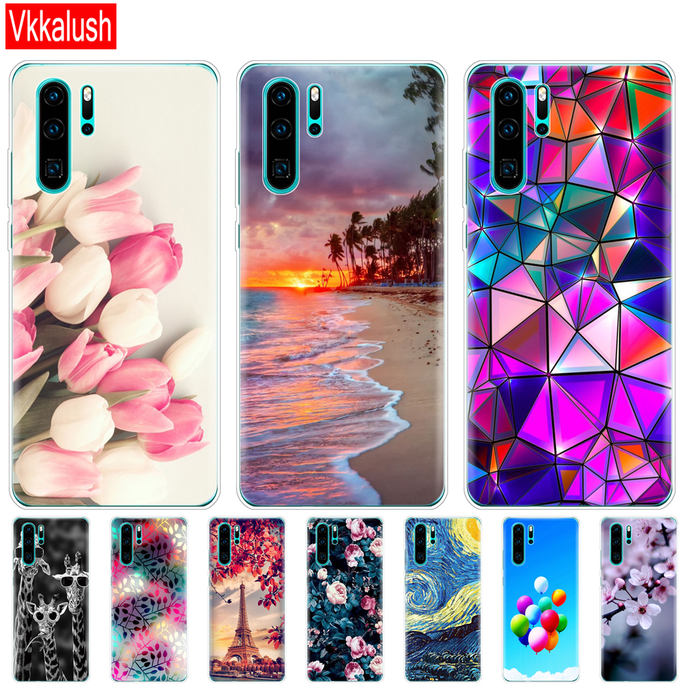 case for Huawei P30 Pro Case Huawei P30 Case funny Silicon TPU Phone Back Cover On Huawei P30Pro VOG-L29 ELE-L29 P 30 Lite Case