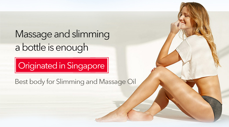 Natural Pure Slimming Body Massage Oil 100% 10