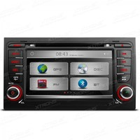 XTRONS 7 Inch 2 din car audio HD Touch Screen stereo DVD Player With GPS Navigation Canbus For Audi A4