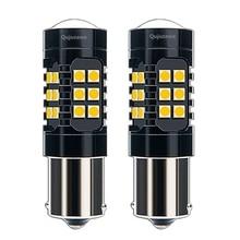 2PCS 1156 P21W BA15S 7506 Super Bright 1200LM 3030 LED Auto Brake Lamp Car Daytime Running Light Reverse Bulbs Turn Signals