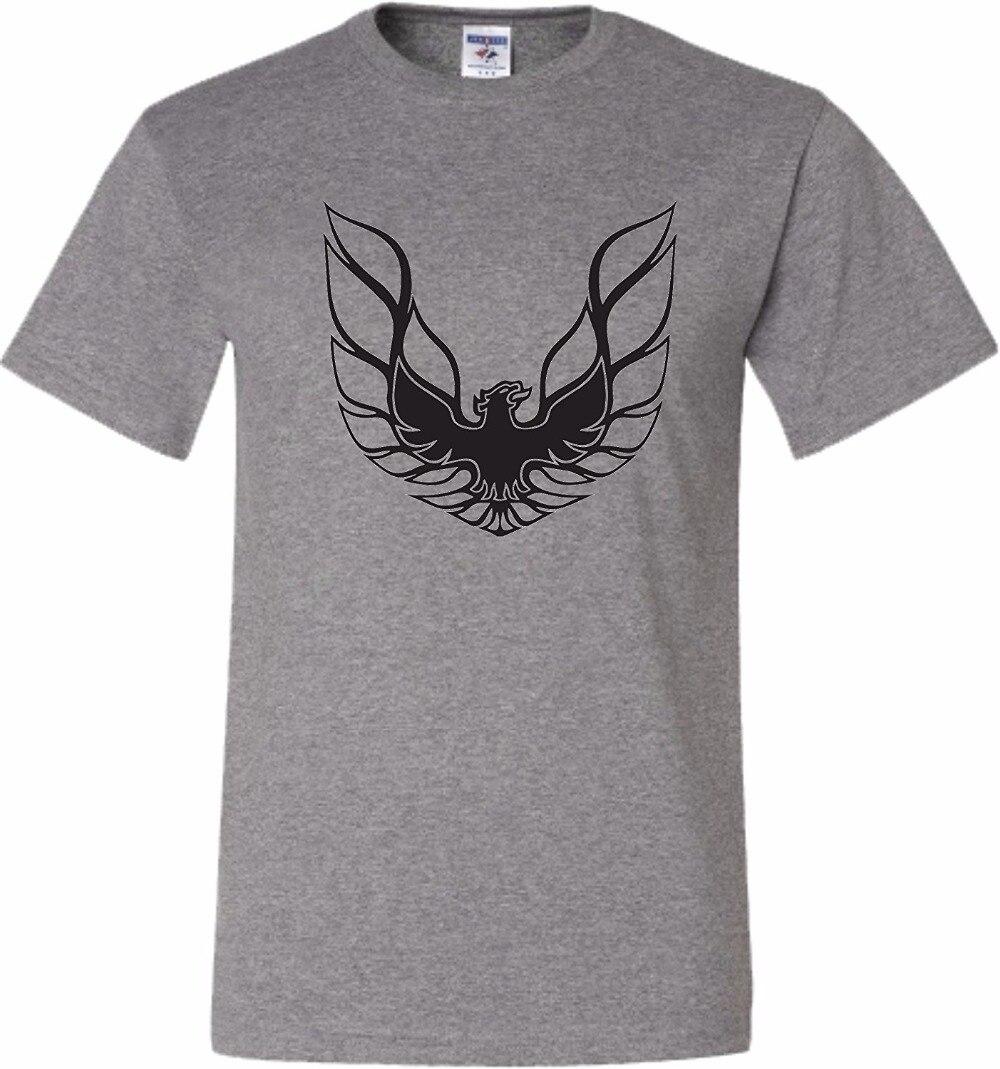 T Shirt High Quality Tees Short Sleeve Printing Pontiac Firebird Gta