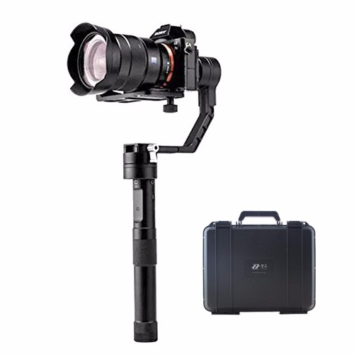 DHL Zhiyun Tech Crane V2 3-Axis Bluetooth Handheld Gimbal Stabilizer for ILC Mirrorless Cameras Includes Hard Case zhiyun crane m crane m 3 axis brushless handle gimbal stabilizer for smartphone mirroless dslr gopro 125g 650g