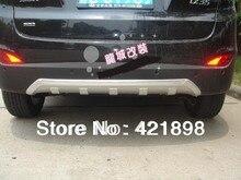 For Hyundai Tucson IX35 2010 2011 2012 2013 2014 Front+Rear Bumper Protector 2 pcs