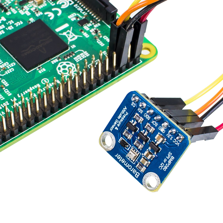 SunFounder BMP280 High Precision Breakout I2C SPI Digital Interface temperature Altitude for Arduino and Raspberry PiSunFounder BMP280 High Precision Breakout I2C SPI Digital Interface temperature Altitude for Arduino and Raspberry Pi