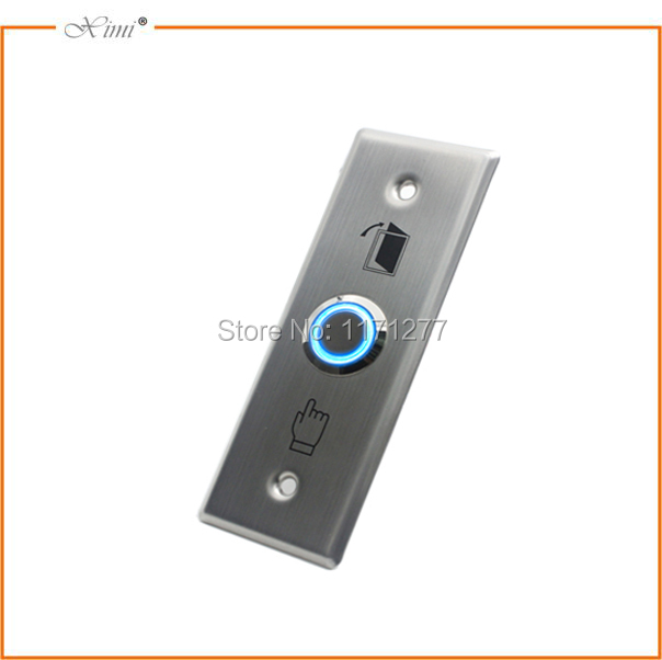 Access controller exit button push swich emergency switch stainless steel exit button
