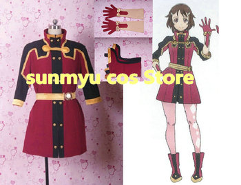 Free Shipping!Sword Art Online The Movie:Ordinal Scale Lisbeth Cosplay Costume,Size customizable,Halloween performance wholesale