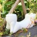 White vegetative grass mini holiday gift creative gifts porcelain doll  porcelain dolls man