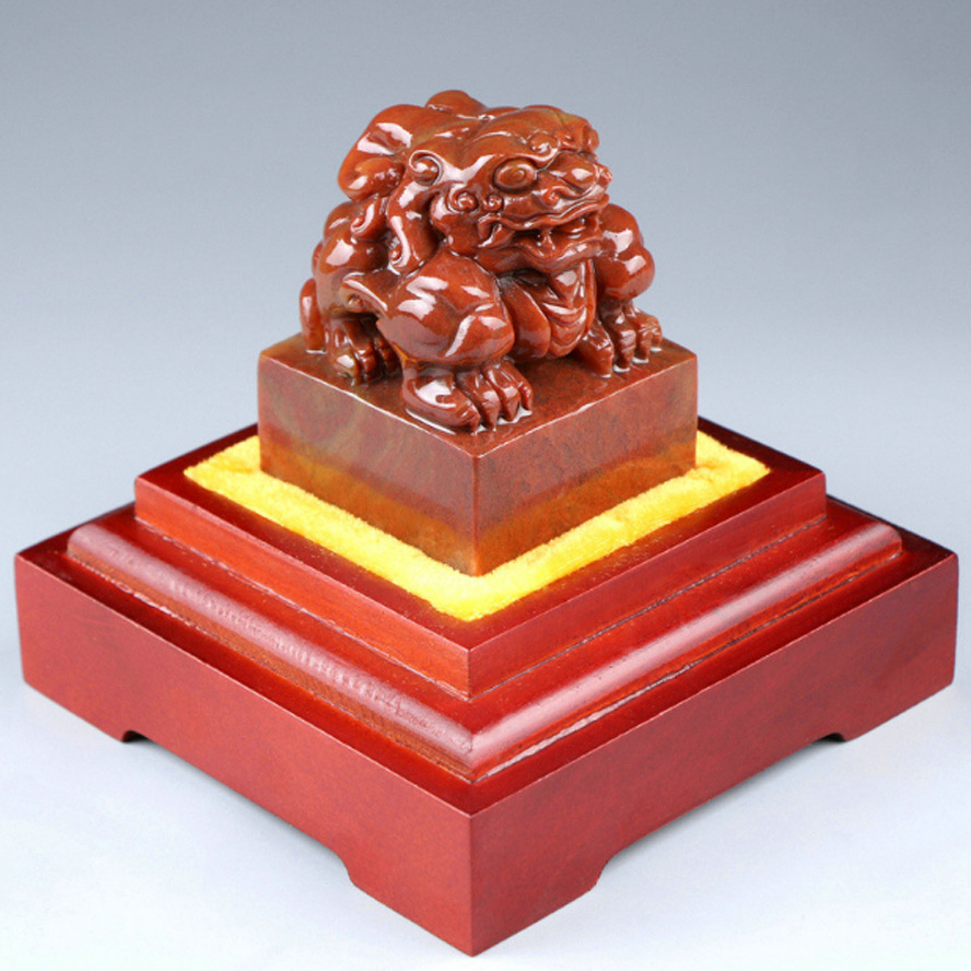 Top Grade Chinese Seal Stamp Imperial jade seal Decoration Engraved logo Art Seal for calligraphy and painting Brave troops детские ткацкие станки аксессуары sega toys ] kira lame seal art kr 02 diy