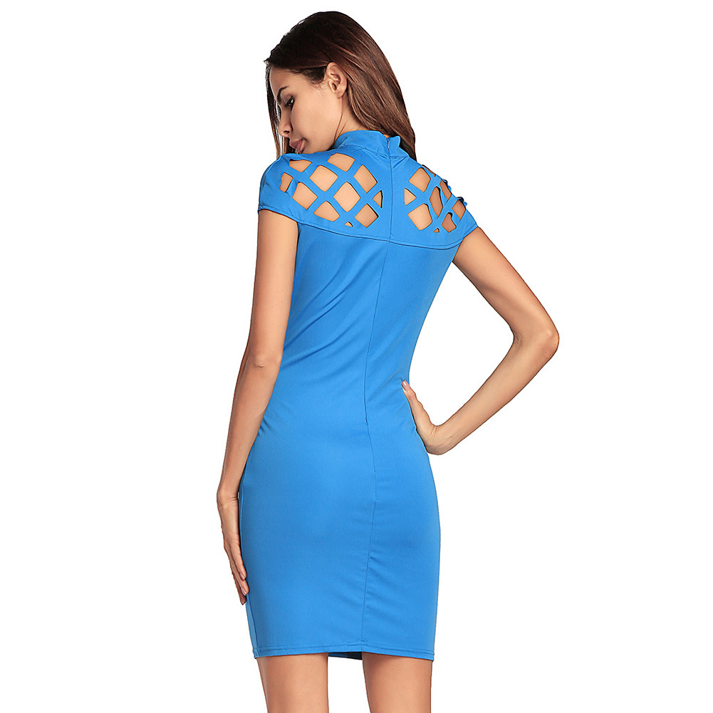 d07d691aa2 PEONFLY Sexy Women Dress O NECK short Sleeve Red Black Club Factory Bodycon  Bandage Midi Party Dresses-in Dresses from Women s Clothing on  Aliexpress.com ...