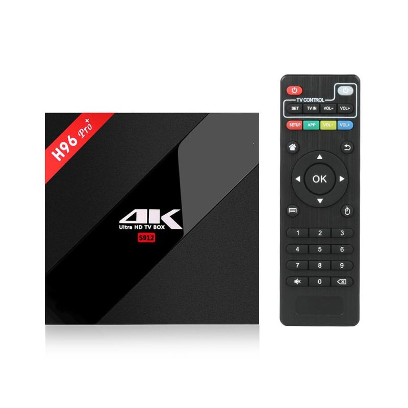 H96 Pro Plus+Android 6.0 TV Box Amlogic S912 Octa Core 3G 32G wifi 1000LAN Bluetooth 4.1PK X96+ i8 keyboard scishion v99 android 6 0 amlogic s912 tv box rii i8 white