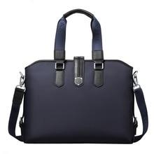 2016 Classic Brand Professional Computer Laptop Shoulder Bag High Quality Waterproof Nylon Casual Messenger Bag Men Briefcase