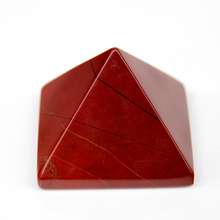2015 Red Jasper crystal quartz rock Engraved 40mm Pyramid Carved Stone Chakra Stones Healing Reiki pendant Free shipping