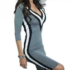 785662fcd6 Favolook Elegant Casual Long Sleeve Women Bodycon Dress