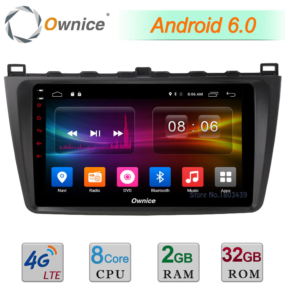 C500 9 4G LTE WIFI Android 6 0 Octa Core 2GB RAM 32GB ROM DAB DVR
