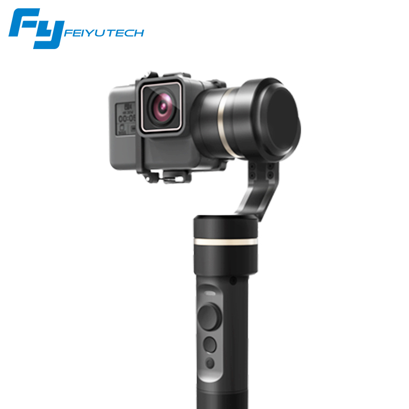 FeiyuTech Feiyu G5 Splash Proof 3-Axis Handheld Gimbal For GoPro HERO 6 5 4 3 3+ Xiaomi yi 4k SJ AEE Action Camera Bluetooth APP dji phantom 2 build in naza gps with zenmuse h3 3d 3 axis gimbal for gopro hero 3 camera