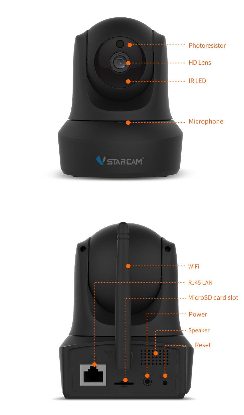 Vstarcam C29S 1080P Full HD Wireless IP Camera CCTV WiFi Home Surveillance Security Camera System Indoor PTZ Camera baby monitor 21