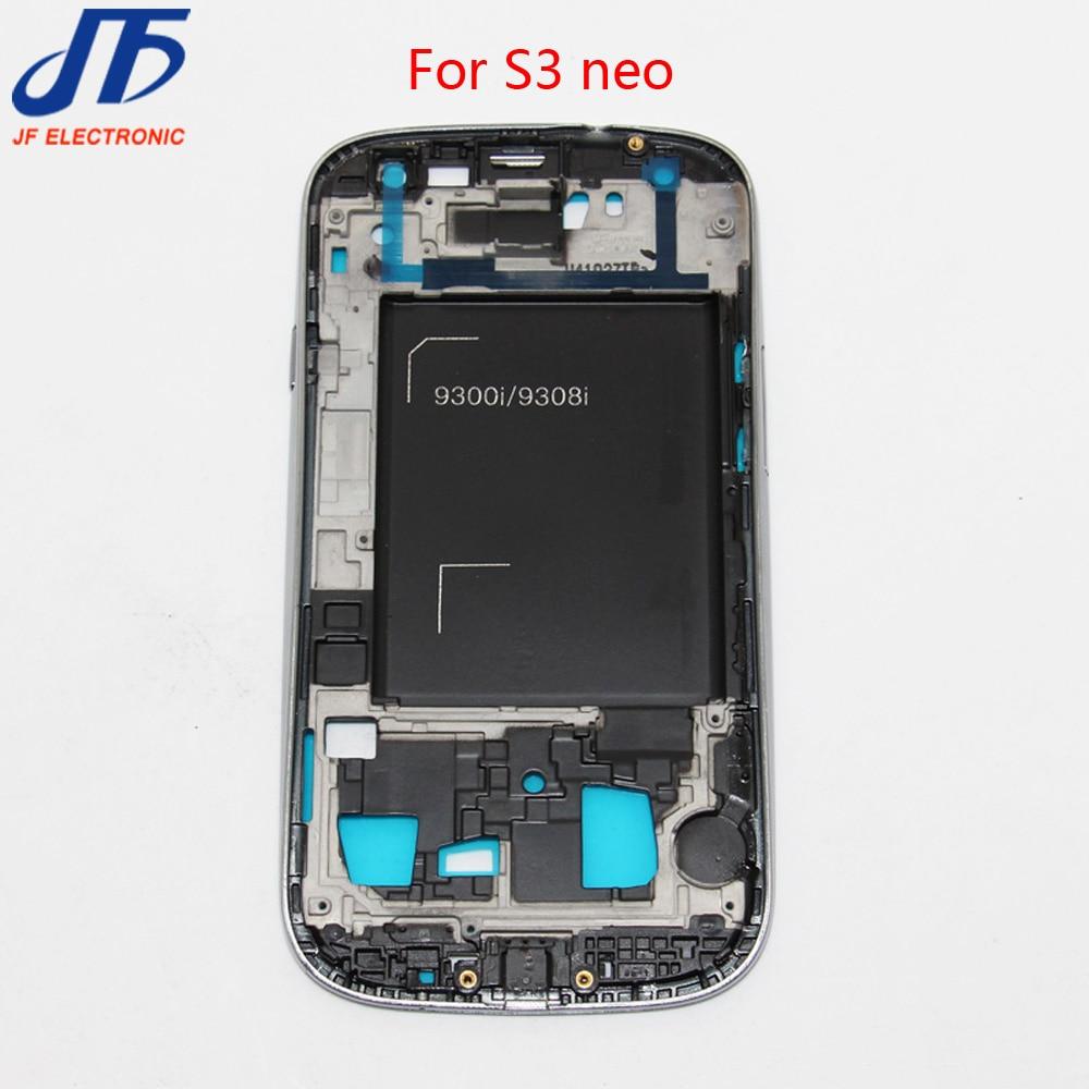 ᓂ10 unids/lote para samsung galaxy s3 neo i9300i i9308i LCD Marcos ...