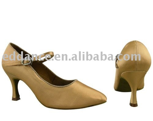 H1201-81_FleshES Lady's Ballroom Dance Shoes