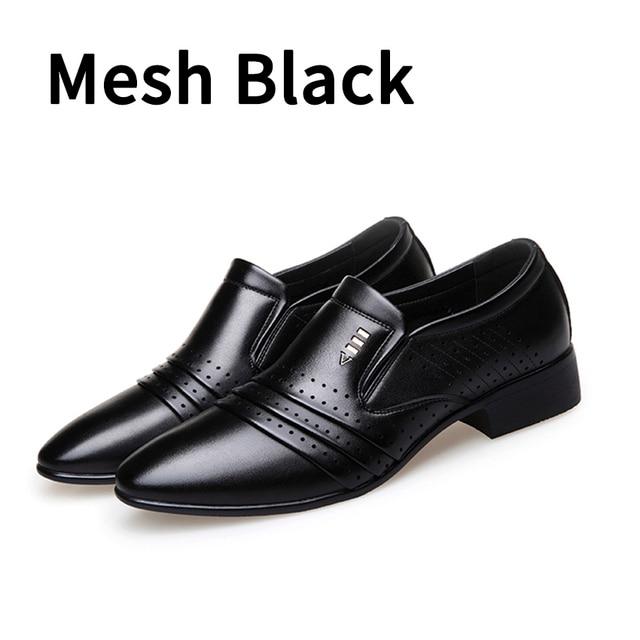 7ed6c677cb6 נעליים רשמי - BIMUDUIYU Luxury brand PU Leather Fashion Men Business ...