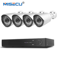 MISECU H 265 4 0MP 4K 48V 4 Channel POE Surveillance CCTV Camera System Hi3516D OV4689