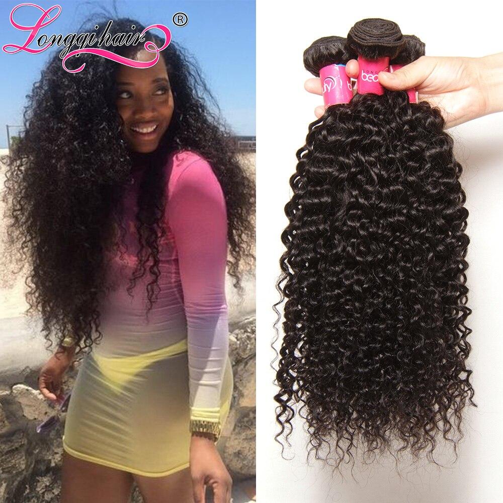 Peruvian Virgin Hair Curly Weave Human Hair Kinky Curly Virgin Hair