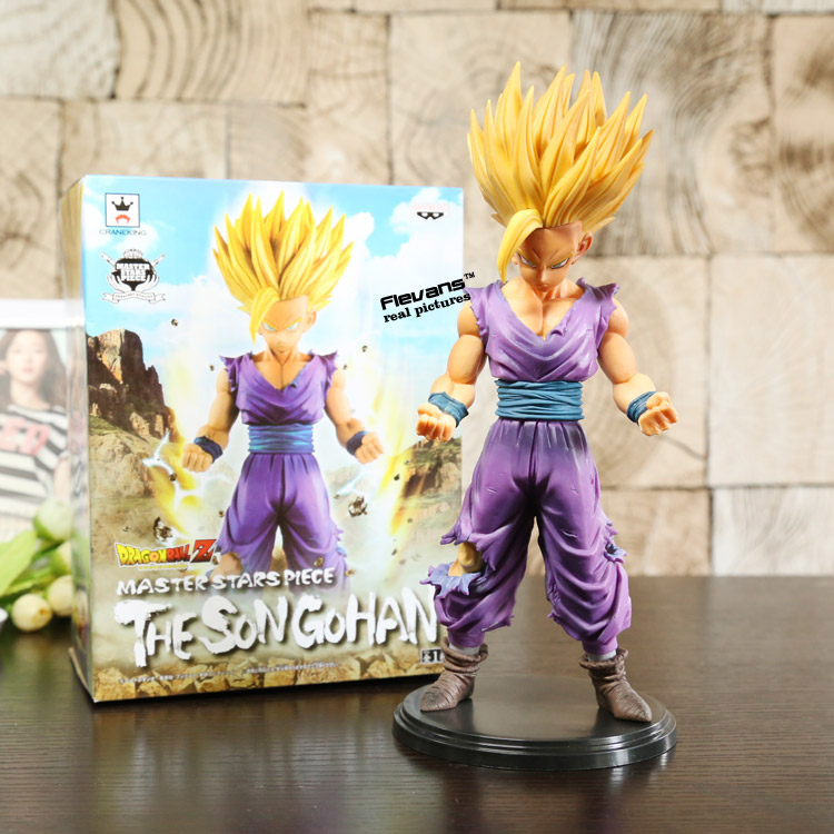 Dragon Ball Z Master Stars Piece MSP The Son Gohan PVC Action Figure Collectible Model Toy 23cm DBFG203 chris wormell george and the dragon