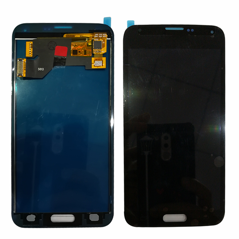 10pcs/lot Touch Screen Digitizer 1920x1080 5.1'' TFT LCD For Samsung Galaxy S5 I9600 G900 <font><b>G900F</b></font> G900M G900P/T/V LCD <font><b>Display</b></font> image
