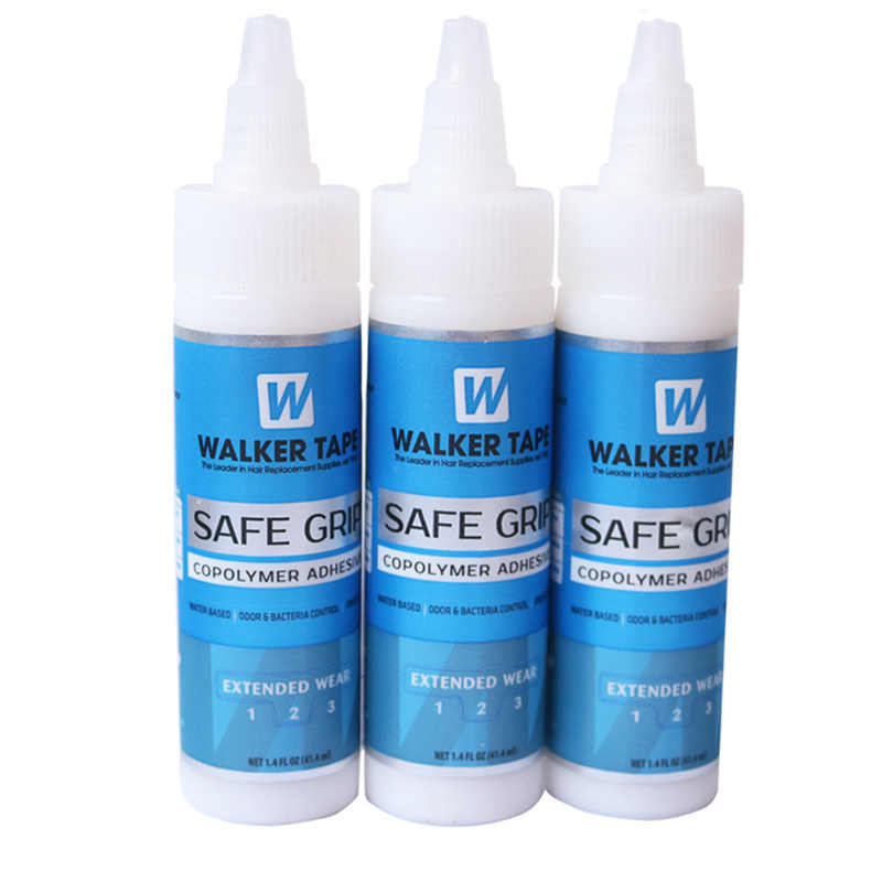 1.4 Oz Walker Safe Grip Adhesive Hairpiece Lace wig Glue Toupee Super Bond Glue