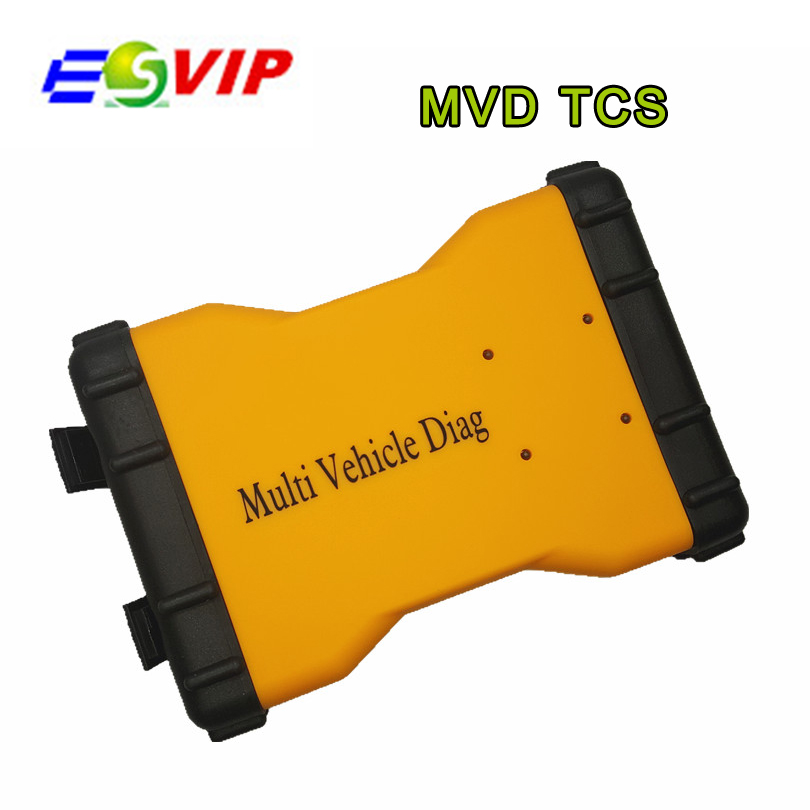 DHL Free Mulit Vehicle Diag MVD 2014.R2/R3 without Bluetooth Diagnostic Tool Same As TCS cdp Pro /5pcs
