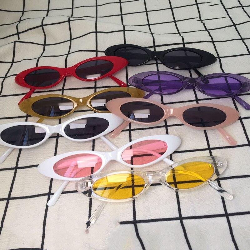 Kleine Rahmen Oval Sonnenbrillen Frauen Männer 2018 Neue Clout ...