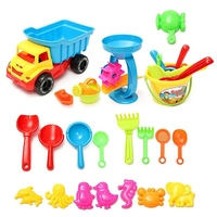 21pcs Lot Baby Beach Sand Play Bath Toys Set For Kids Early Educational Sand Watering Classical