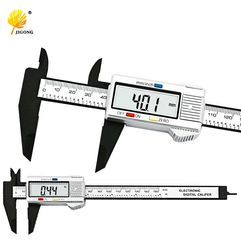 Messung Und Analyse Instrumente Tragbare 6 Zoll 150mm Kunststoff Lineal Schiebe Gauge Messschieber Schmuck Messung Genau Mess Werkzeuge Drop Verschiffen