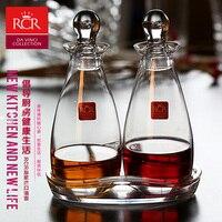 Италия RCR стекло масленка герметичность бутылка уксуса соевый соус Приправа бутылки кухня пот набор масляный бак.
