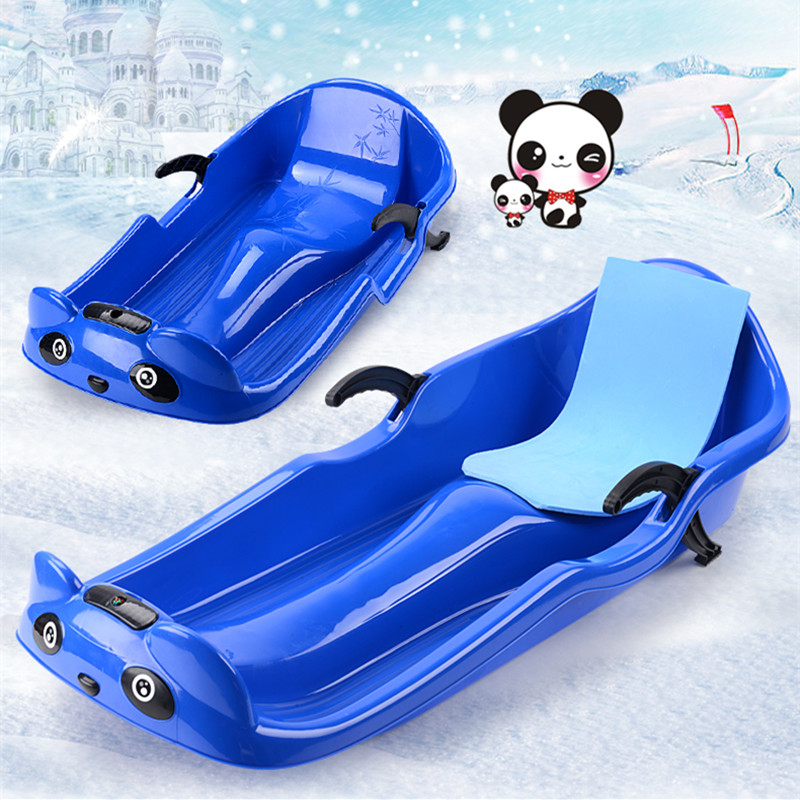 Safe Snow Sled Kids Sledge Winter Toboggan Outdoor Sport Skiing Board For Kids For A Birthday Christmas Gifts L1226 Hiking T-shirts