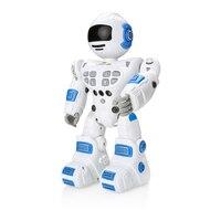 Remote Control Robot Toy RC Robot Sing Dance Gesture Sensor Action Walk Smart Robot Toys for Kids Children Birthday Gift