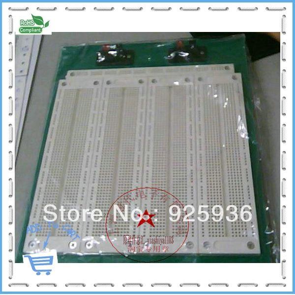 Universal board SYB-500 general-purpose breadboard 23 * 23.5cm  room spot msp430 development board microchip msp430f149 program breadboard