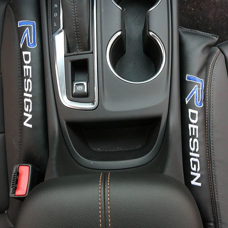 For Volvo Xc60 S60 s40 S80 V40 V60 v70 v50 850 c30 XC90 s90 v90 xc70 s70 Auto Seat Gap Filler Stickers Car Interior Accessories